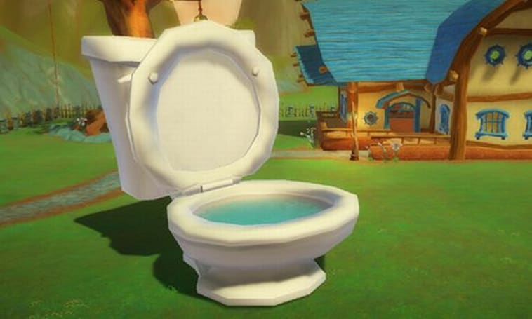 Free Realms adds land sharks and toilet pools to the store