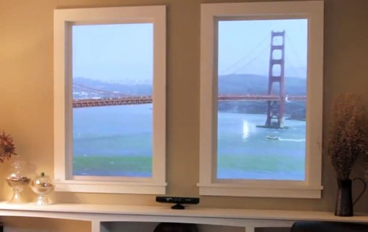 Winscape virtual window makes the leap to Kinect in 4K-capable, 6-screen glory (video)