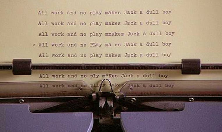 WRUP: All work and no play...