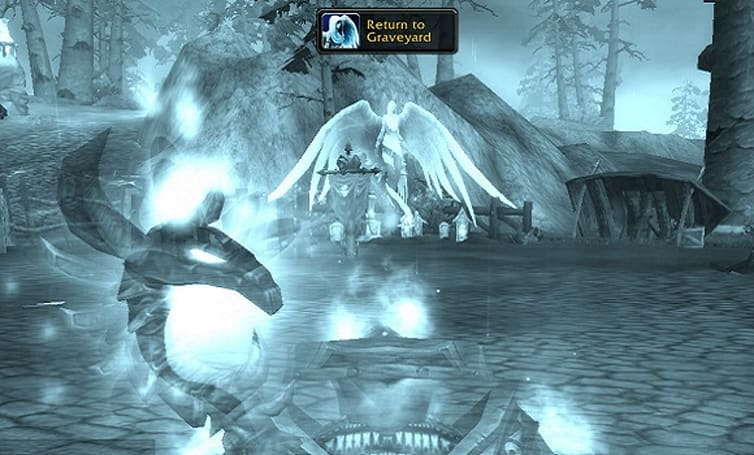 """Return to Graveyard"" button appears in latest Cataclysm beta build"