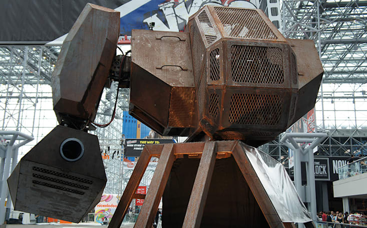 MegaBots wants to make your giant battle mech dreams come true