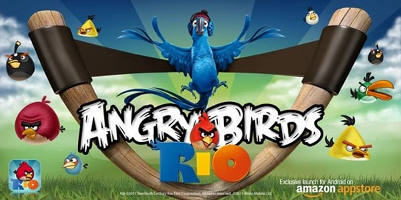 Angry Birds Rio getting free Rio 2 movie content updates