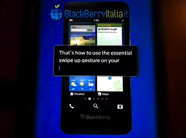 BlackBerry 10 L-series tutorial videos surface online, give a literal peek at the future (video)