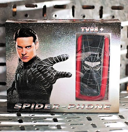 Crapgadget: Why are you doing this to us, Spider-phone?