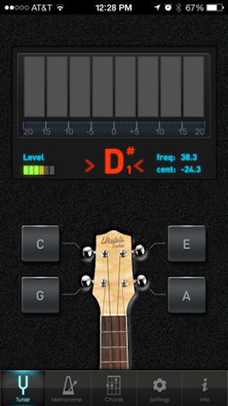 Ukulele Toolkit is a handy app for uke players