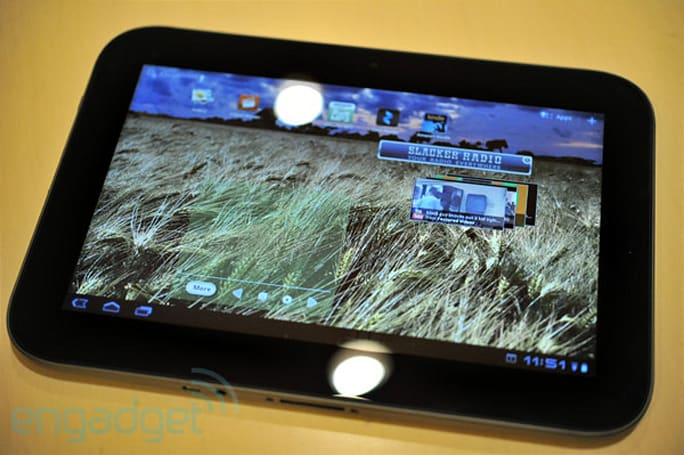 Lenovo's Android 3.1-powered IdeaPad K1 tablet hands-on (video)