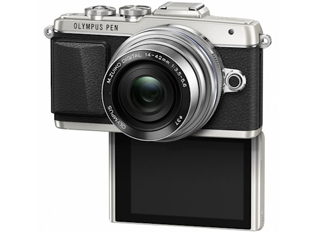 Olympus' newest mirrorless camera is built for selfies