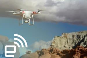 DJI Phantom 2 Vision+ Drone Hands-on