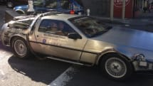 Uber to offer DeLorean rides in SF this weekend only, time travel not included