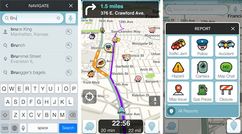 Waze navigation app now reads destinations from iOS and Android calendars
