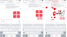 Facebook Messenger lets you send a heart-wrapped Valentine