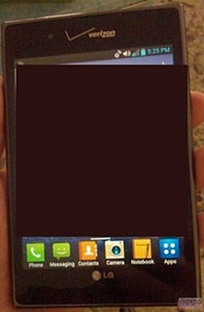 Verizon LG Optimus Vu apprehended by Android Police, confesses to Ice Cream Sandwich upgrade