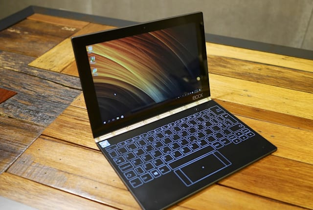 Lenovo Yoga Book 評測(Windows 版)