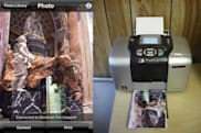 Air Photo prints photos directly from iPhone or iPod touch