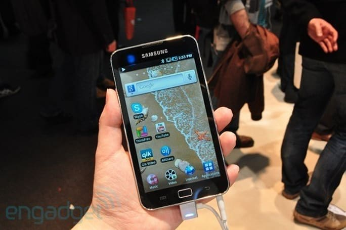 Samsung Galaxy S WiFi 5.0 gets priced, goes on sale in UK