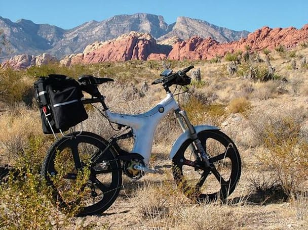 Optibike's OB1 hybrid electric mountain bike: yours for a cool $13,000