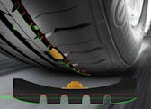 Tires with built-in sensors keep a watchful eye on tread wear