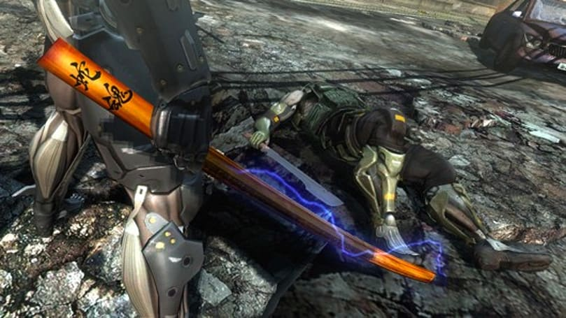 Metal Gear Rising: Revengeance VR DLC looks and sounds like this