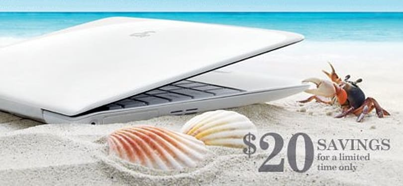 ASUS Eee PC 1008HA Seashell up for pre-order, early adopters score a $20 discount