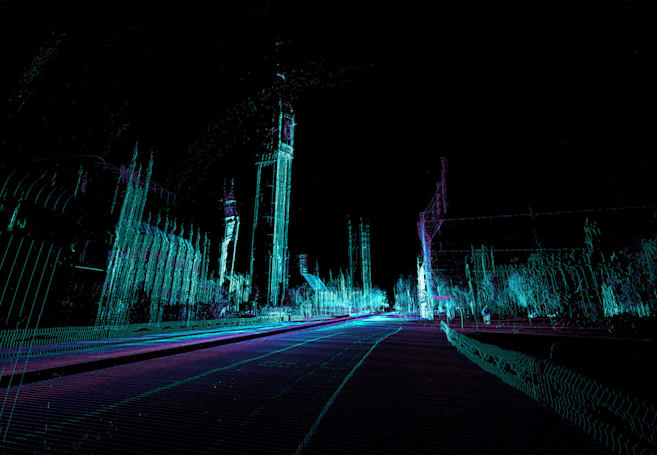 See London through the eyes of a self-driving car