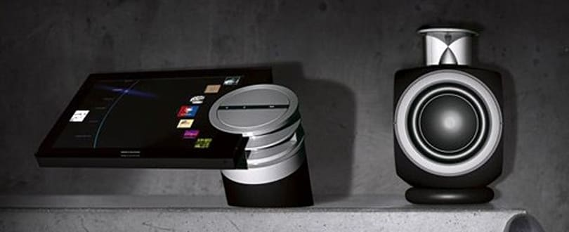 Bang & Olufsen's BeoSound 5 music server / controller demoed on video