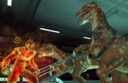 New Champions Online screens finally feature cybernetic velociraptors