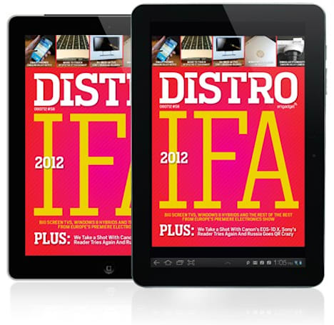 Distro Issue 56 is here with smartphones, Windows 8 hybrids and the best of the rest from IFA 2012