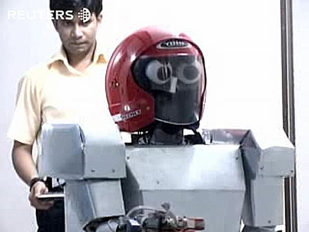 Meet iRobo, the Bangladeshi scrapbot