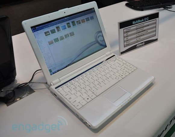 ASRock launches MultiBook G12 at CeBIT, we go eyes-on