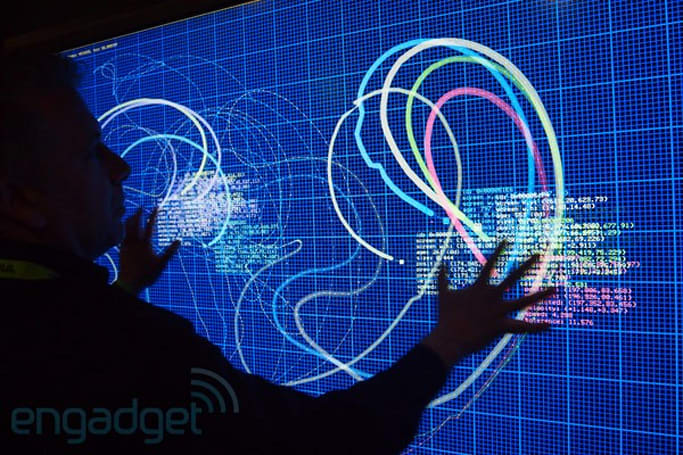 Perceptive Pixel shows world's largest projected capacitive display at SIGGRAPH, we go hands-on (video)