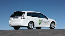 Saab chooses UQM motors for its 9-3 ePower EV, will be carving Alp twisties soon