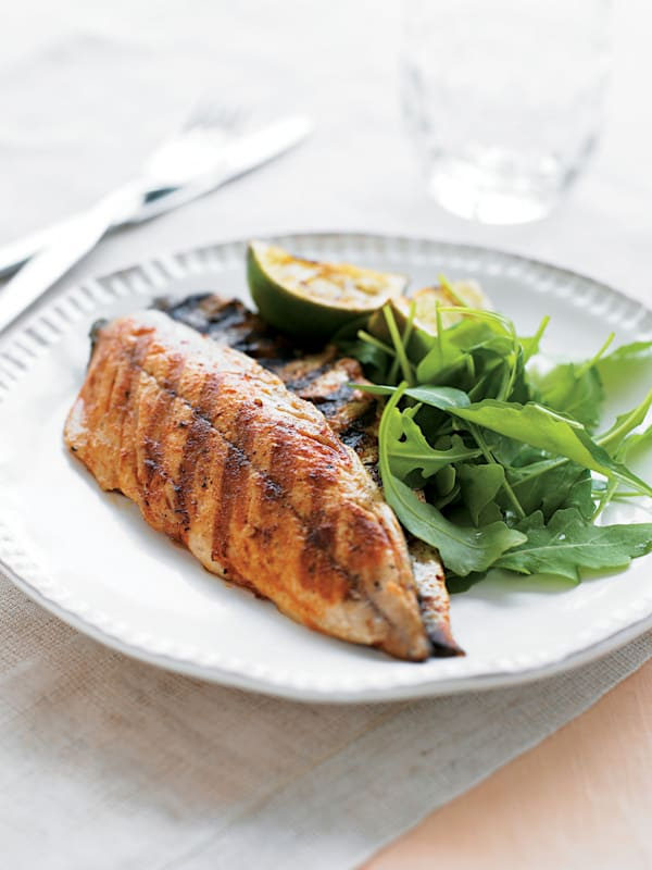 Spiced Mackerel Fillets Recipe