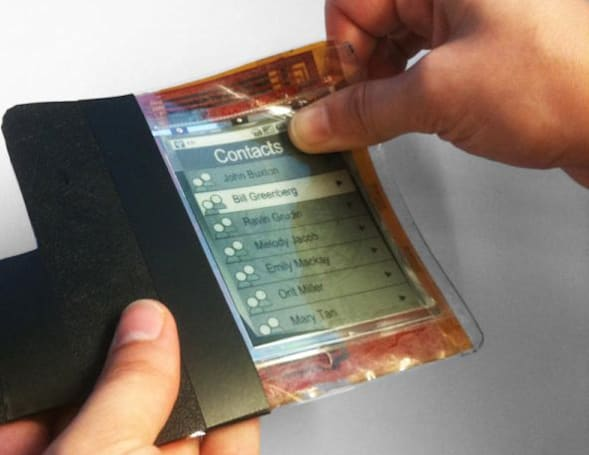 Flexible PaperPhone wants to get bent out of shape (video)