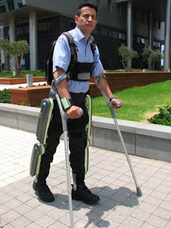 ReWalk exoskeleton on sale in January, for a price you can't afford
