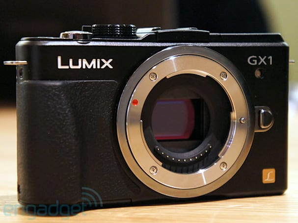 Panasonic launches Lumix DMC-GX1 Micro Four Thirds camera, we go hands-on