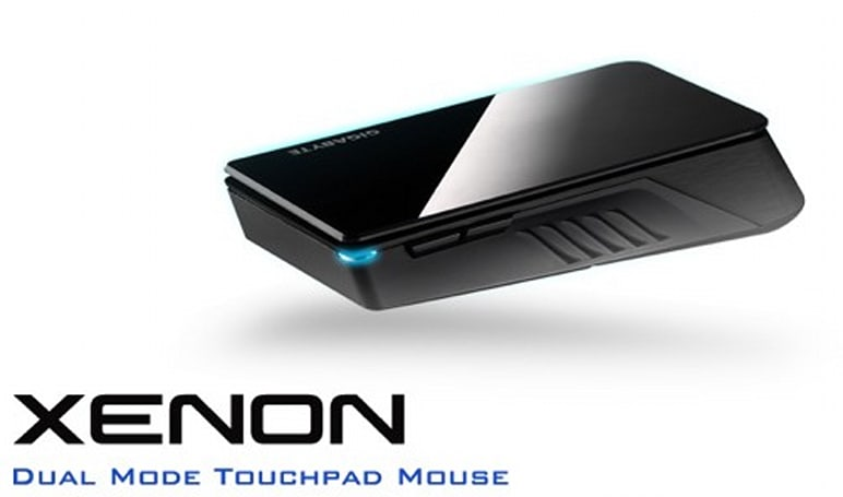 Gigabyte launches Aivia Xenon dual-mode touchpad mouse