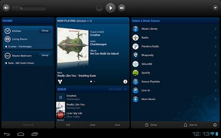Sonos finally adds retina support to iOS app, tablet UI on Android