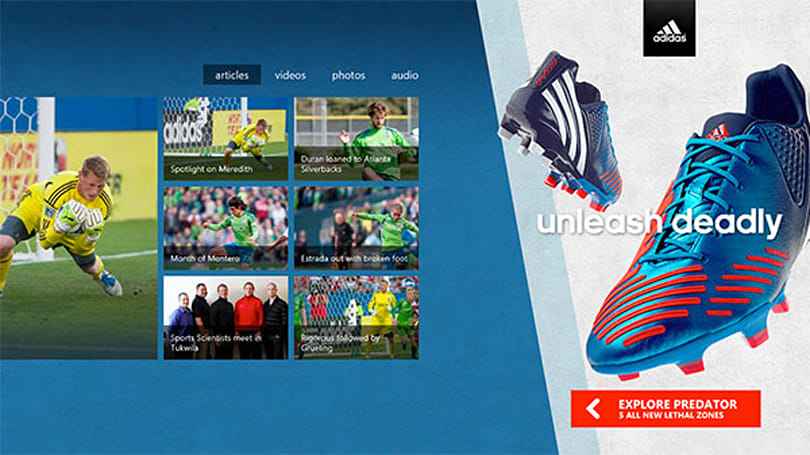 Windows 8 in-app advertisements get their own preview