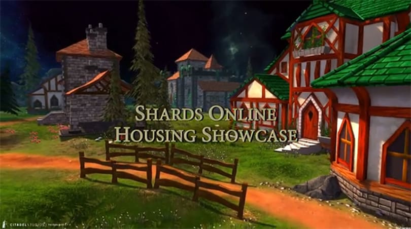 Shards Online showcases 30 seconds of housing