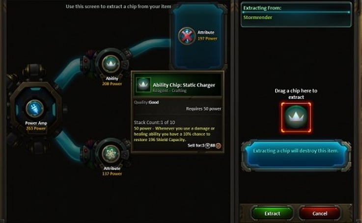 WildStar explains gear modding
