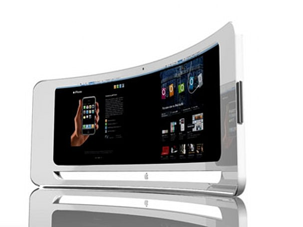 Curved iMac concept bends beyond the realm of plausibility
