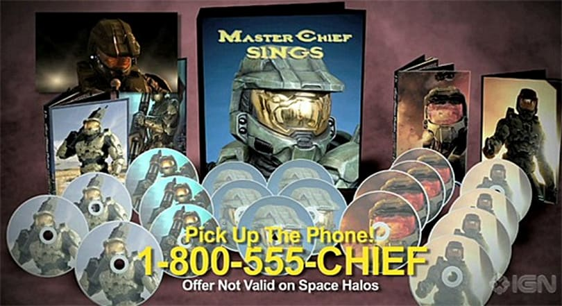 Master Chief Sings: a 19-disc set of John 117's best