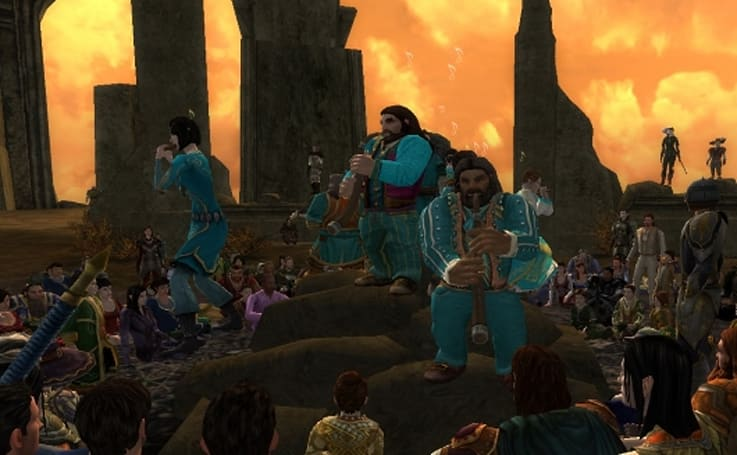 LotRO heaps love on its music system with Update 15