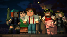 Here's your first look at Telltale's 'Minecraft: Story Mode' game