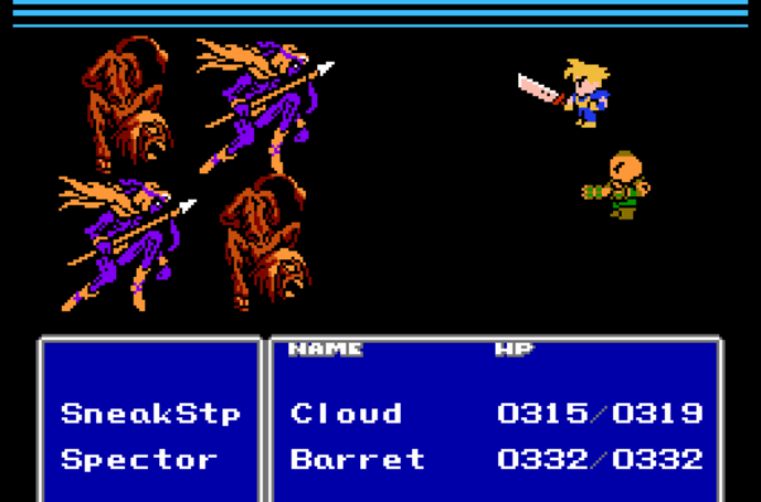 Final Fantasy 7 unofficial NES port restored, improved by modders