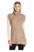 Lark & Ro Soft Cowl-Neck Tunic with Side