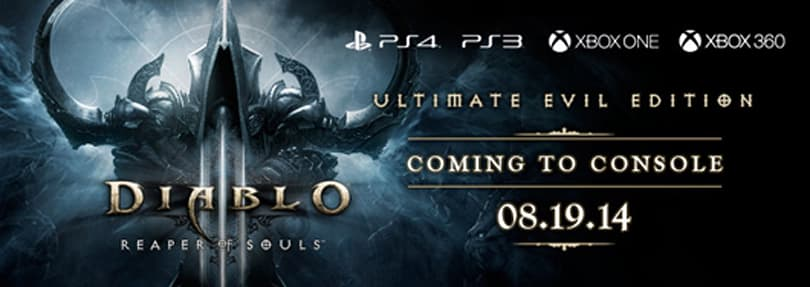 Diablo III's Reaper of Souls coming to consoles in August