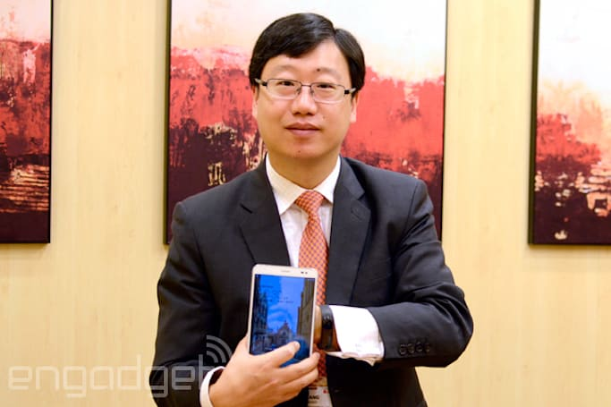 Huawei's flagship phablet is only $300 in China, and its CMO explains why