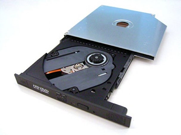 Toshiba's slim HD DVD drive for thinner HD DVD laptops