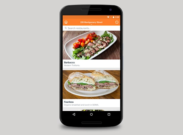 Square's restaurant delivery service arrives on Android